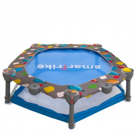 Ігровий центр-батут Smart Trike 3 в 1 синій