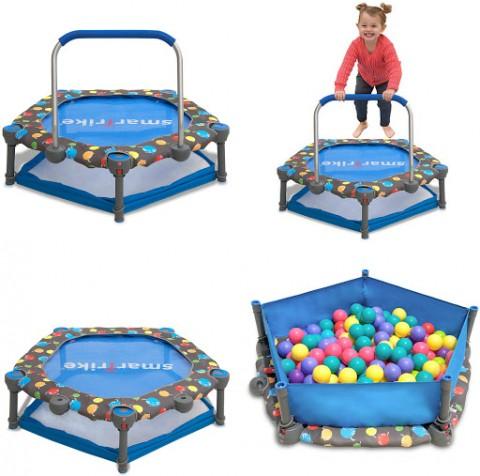 Ігровий центр-батут Smart Trike 3 в 1